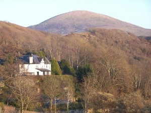 Stuart's home in Wales